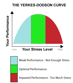 Yerkes-Dodson Human Performance Curve
